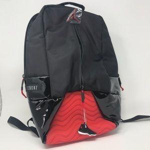 Jordan 11 Bred Backpack New with tags rare